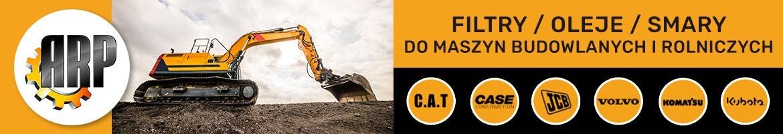 Filtry, Oleje i Smary do Maszyn Budowlanych i Rolniczych